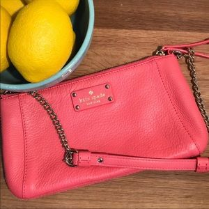 Kate Spade Coral Wellesley Byrd Shoulder Bag
